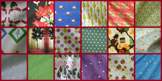 Christmas-fabrics! Vote for your favorites.