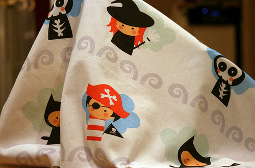 Halloween fabric for sale!