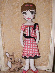 audey and pippin dolls by mytinystar on Flickr
