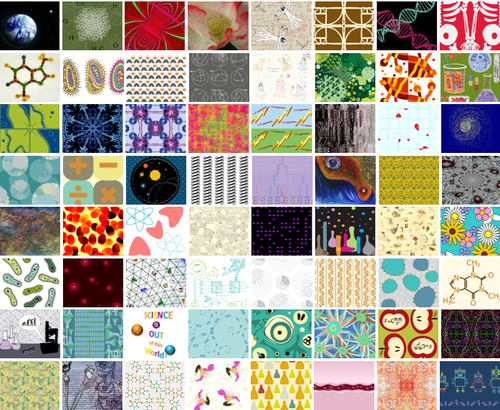 Vote for your favorite science fabrics