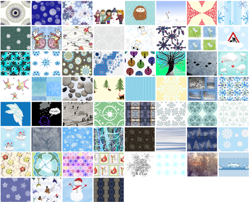 Vote for your favorite snow fabrics!