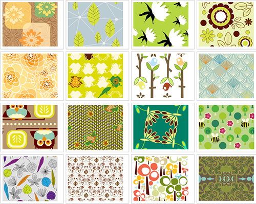 Vote for all your favorite nature-themed fabrics