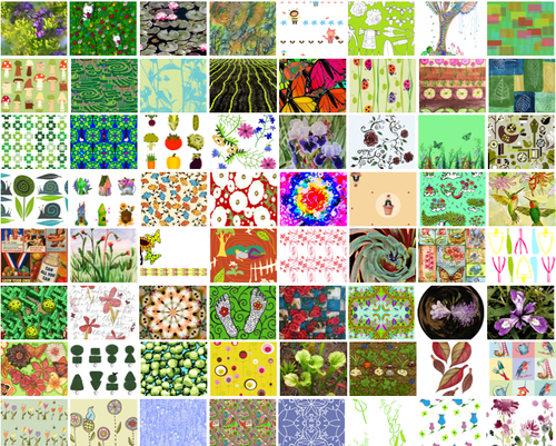 Vote for Garden fabrics