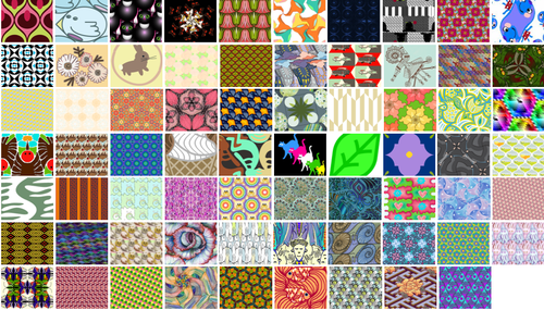 Vote for your favorite tessellation fabrics