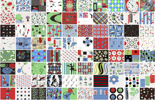 Vote for your favorite Fifties fabrics