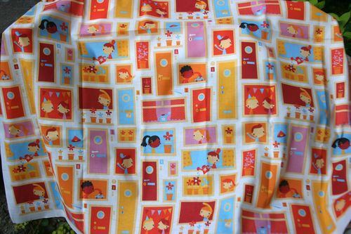 Winner: Happy Home fabric by Bora