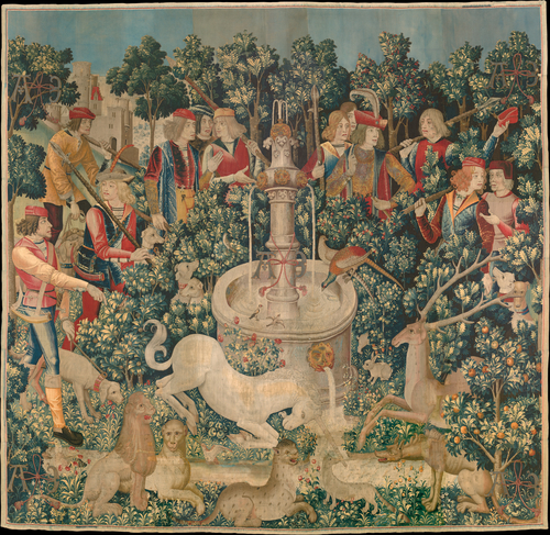 The_Hunt_of_the_Unicorn_Tapestry_1 from Wikipedia