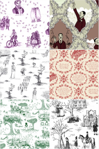 Toile collage