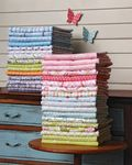 Patty's fabrics stacked