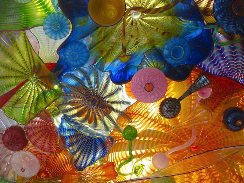 Dale Chihuly Bridge of Glass detail