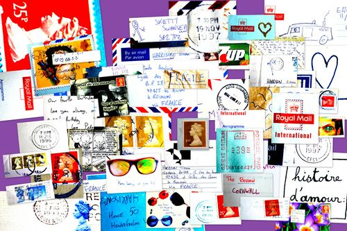 Mail collage