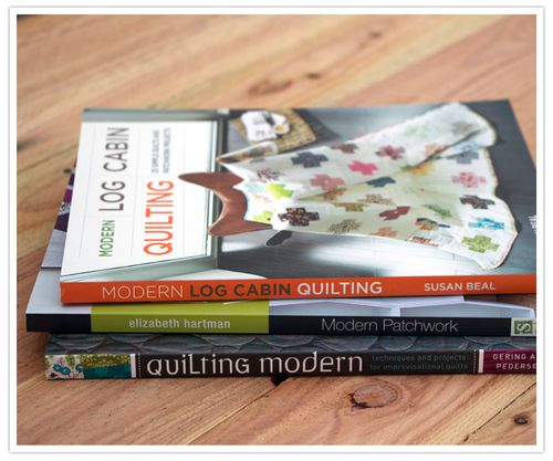 Win a modern quilting library