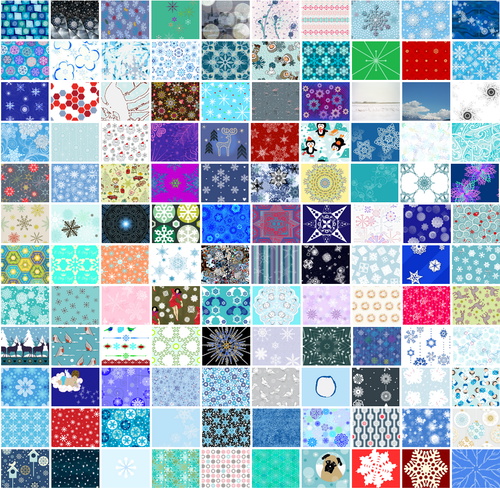 Go vote in our snowflake fabric contest