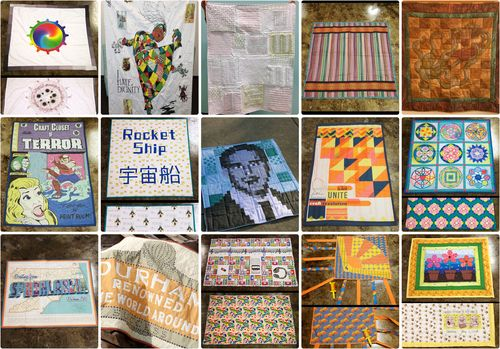 Staff-quilt Collage