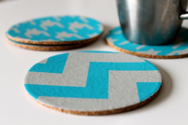 Decal coasters