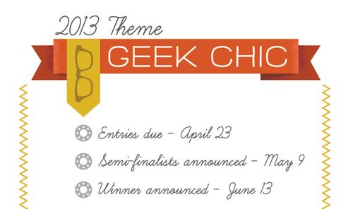 Geek-Chic is the theme for the 2013 Fabric8 contest