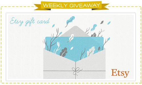 Etsy gift card giveaway