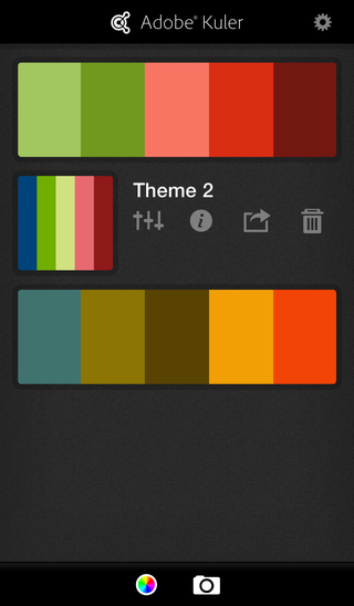 Kuler iPhone5 Color Theme