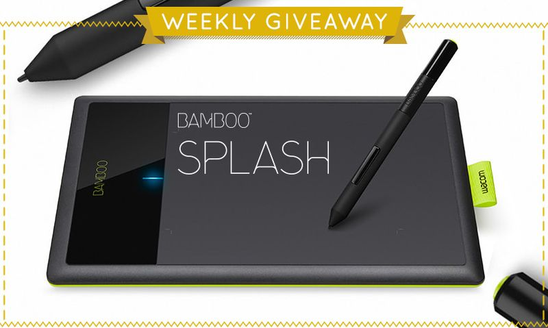 Win a Wacom Bamboo Splash!