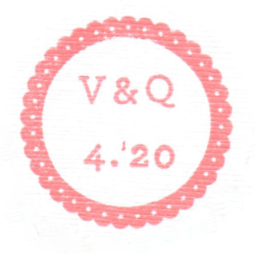 Q and V logo