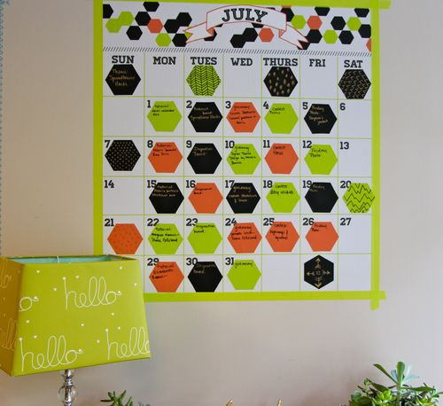 Decal Calendar