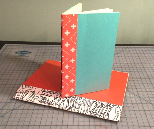 Finished book binding