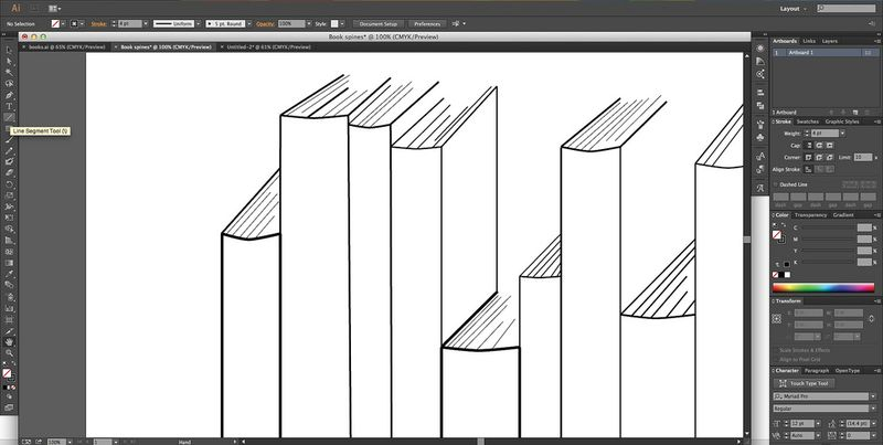 Creating a Book Spine Design