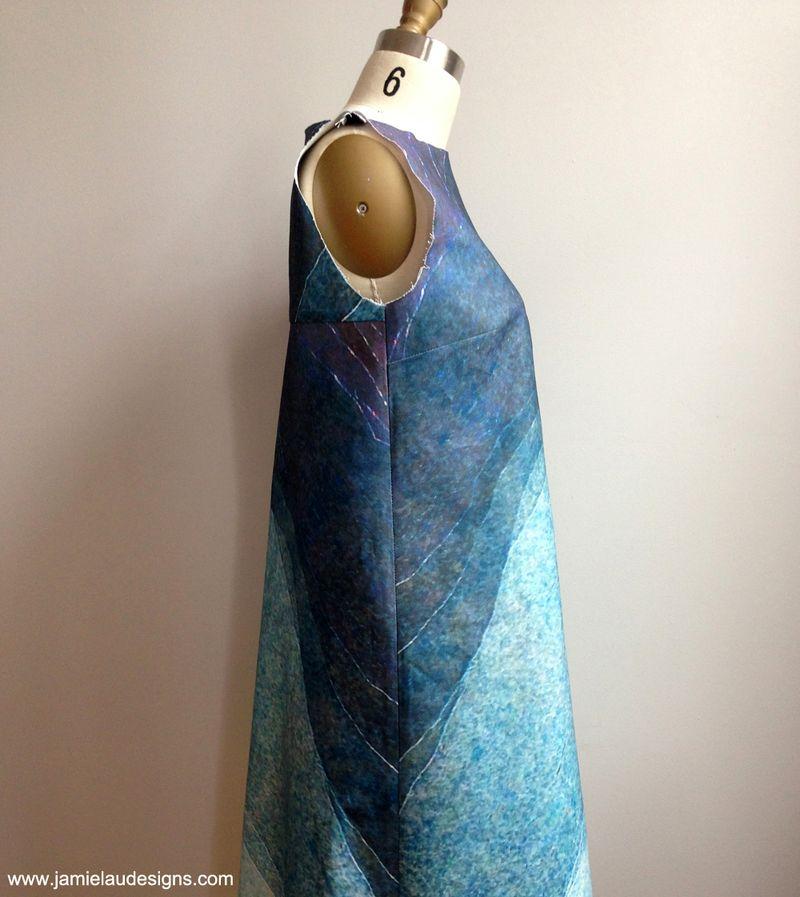 Lau dress, unfinished