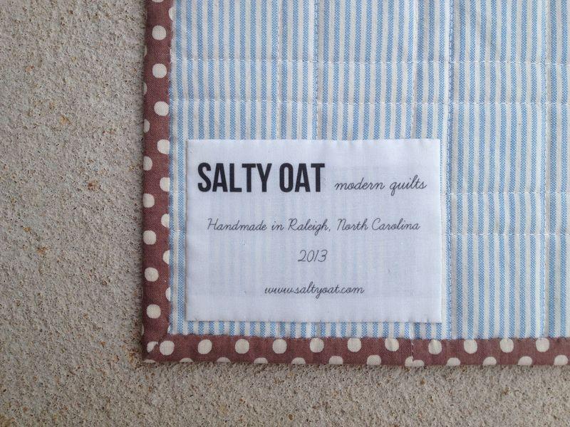 Quilt label 2