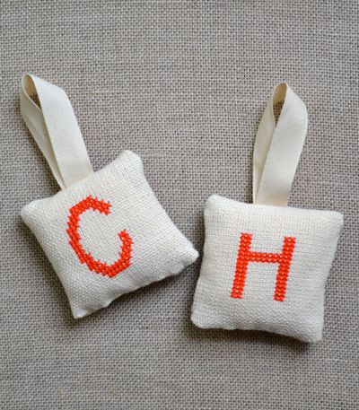 Fabric cross stitch