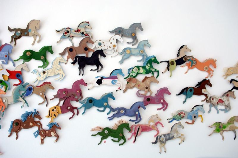 Horse Or Stampede If Youre Ambitious With Ann Wood S Simple DIY