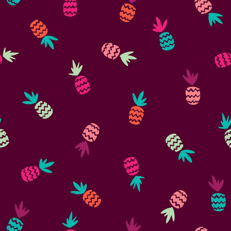 Hot-summer-pineapple-aztec-pattern