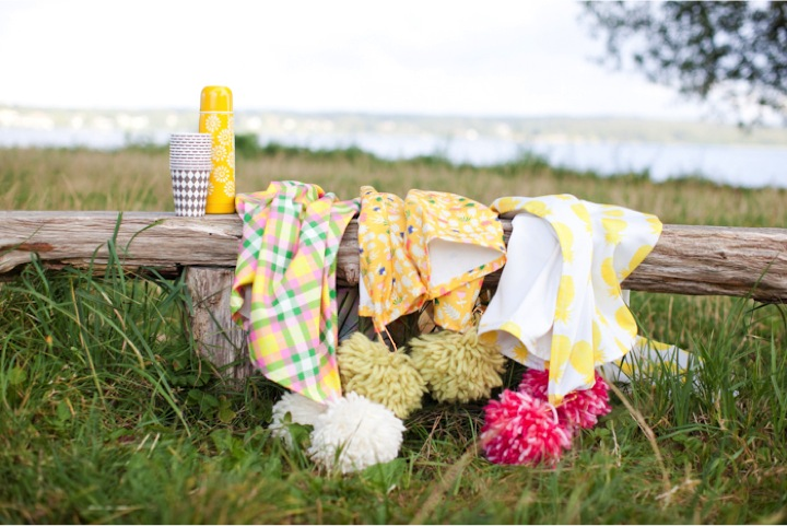 DIY-picnic-throws-with-pompoms