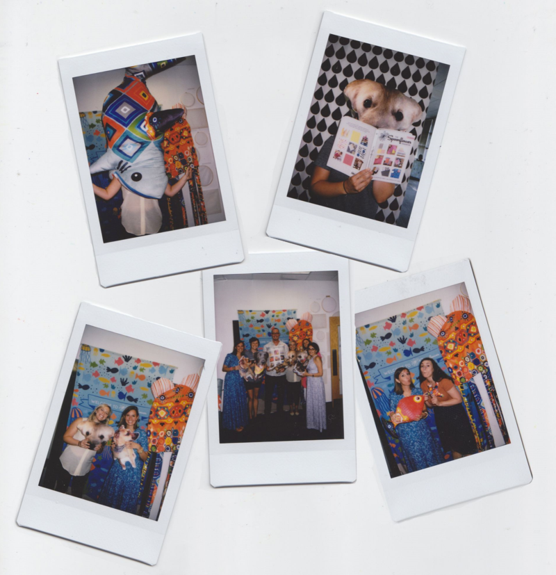 Polaroids from selfie station
