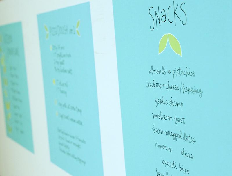 Snack-menu