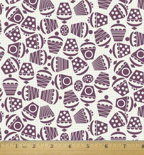 Geometric Cupcake Ditsy by Scrummy