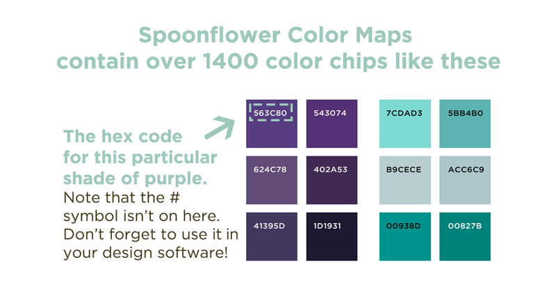 Color Map Chips