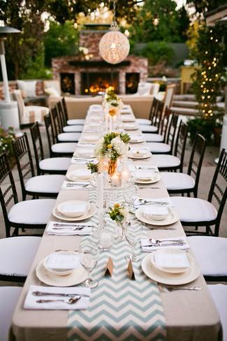 DIY Wedding Table Runner Ideas on blog.spoonflower.com