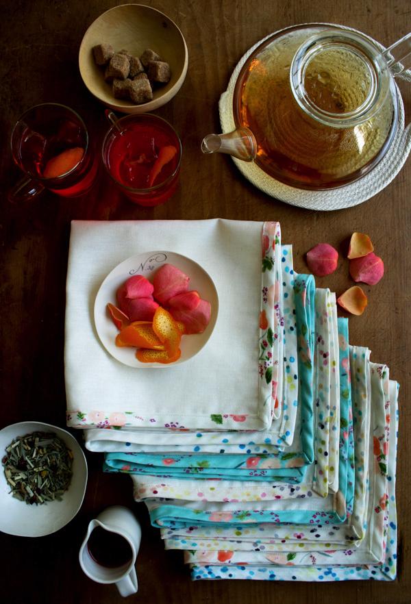 garden party napkins
