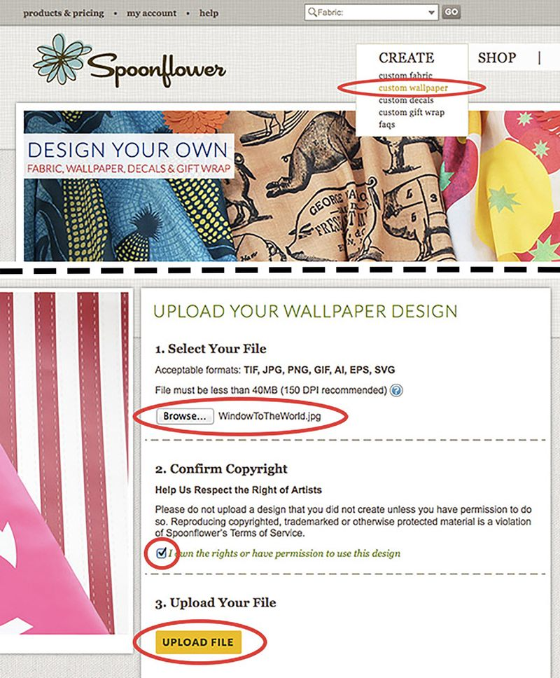 Design Your Own Photo Stickers - Spoonflower Blog – DIY ...