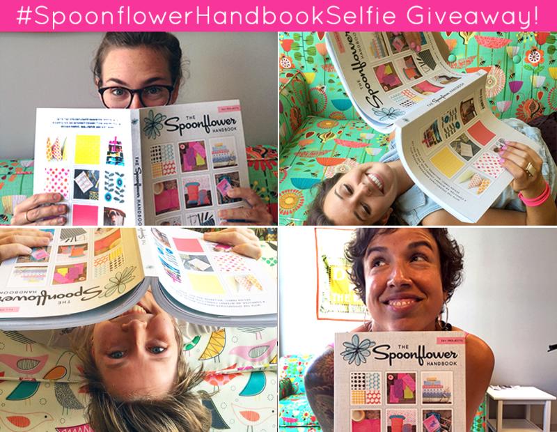 Spoonflower Handbook Selfie Giveaway
