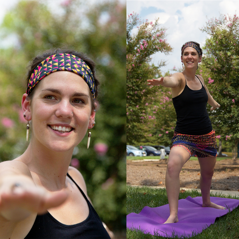 Do yoga in your headband