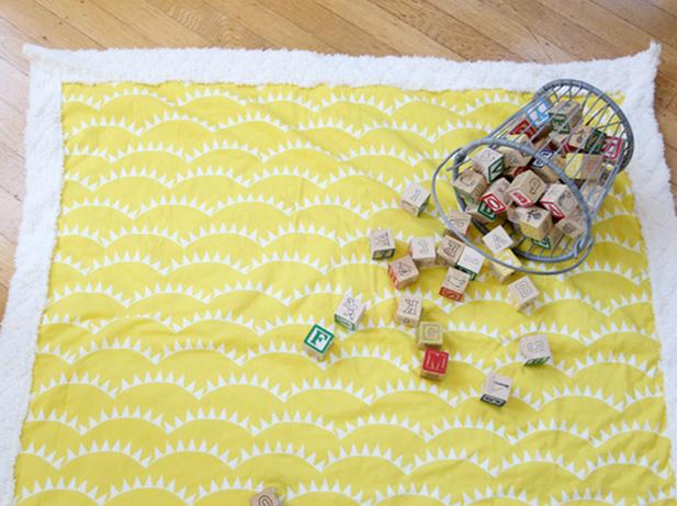 Momtastic's baby blanket