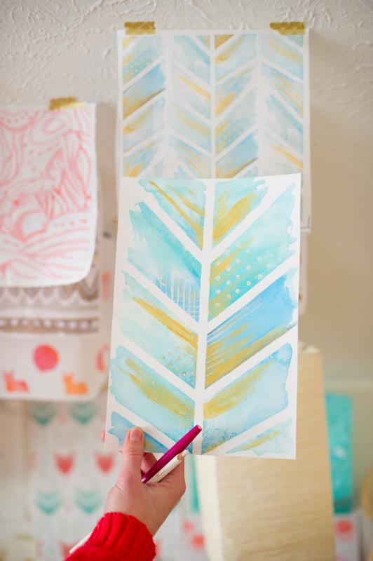 #Spoonchallenge Designer Emily Sanford Watercolor Prints